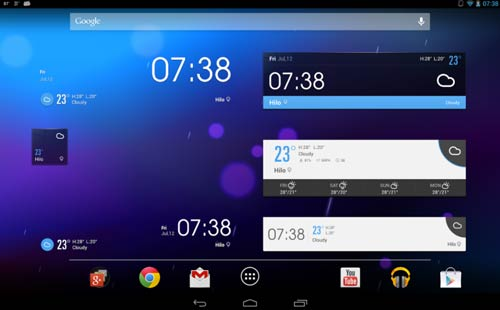 Crear aplicaciones para Android - Ejemplos: EZ Weather Forecast