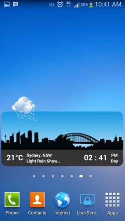 Crear aplicaciones para Android - Ejemplos: Metro Clock Weather