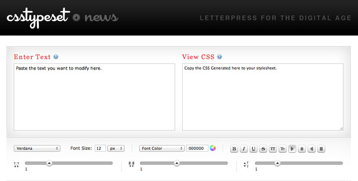 css-editor-generar-codigo-csstypeset
