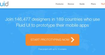 Creación de prototipos en desarrollo de apps: Fluid