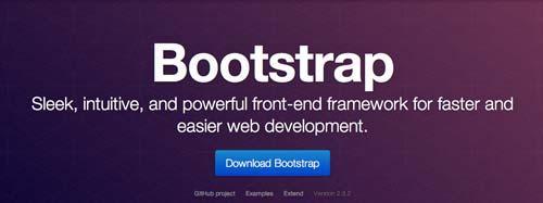 Framework CSS con sistema de cuadrículas Twitter Bootstrap