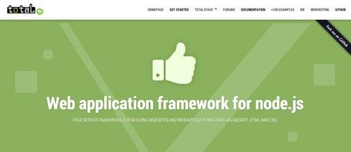 Framework Javascript para Node.js Total.js