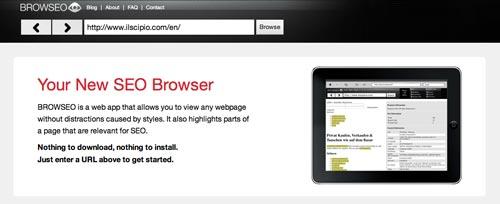 Herramientas SEO para bloggers: Browseo