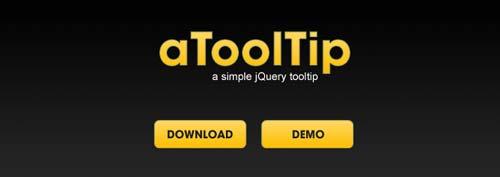 Javascript plugin aToolTip