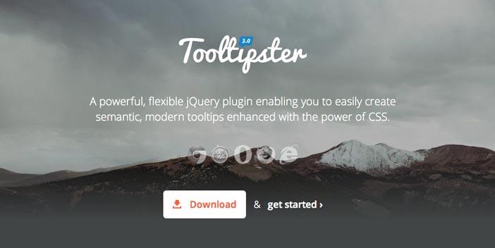Javascript plugin Tooltipster