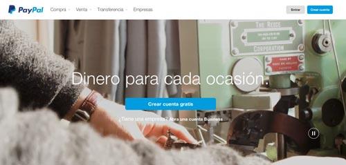 Servicio para mantener organizado tu negocio online: PayPal