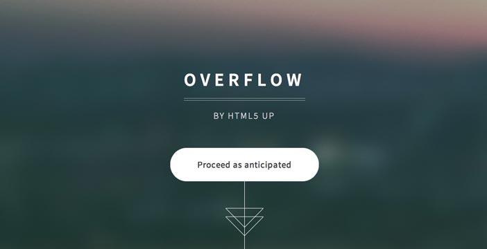 Plantillas HTML para negocios Overflow
