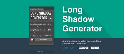 Plugin Photoshop Long Shadow Generator