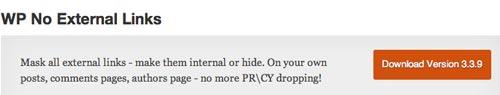 Plugin WordPress WP No External Links