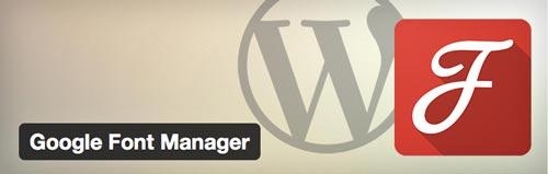 plugin-wordpress-googlefontmanager