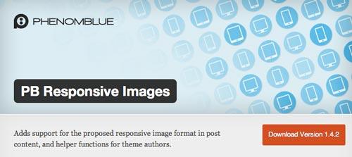 Plugin WordPress PB Responsive Images