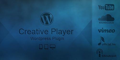 Plugin WordPress para incorporar reproductor multimedia: Creative Player