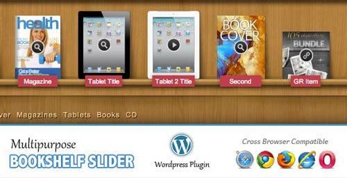 Plugin WordPress Multipurpose Bookshelf Slider