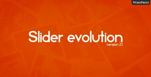 Plugin WordPress slider Evolution