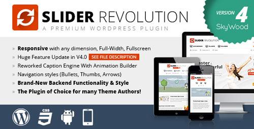 Plugin WordPress slider Revolution