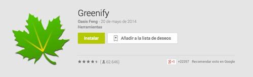 Programas para Android para solucionar lentitud: Greenify