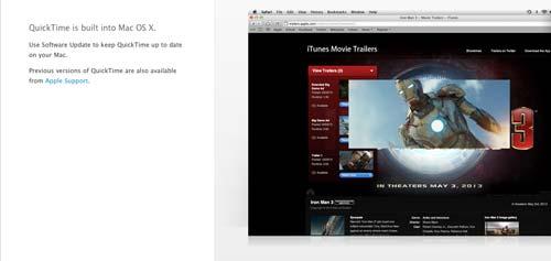 Programas para Mac para grabaciones de pantalla: Quicktime Player