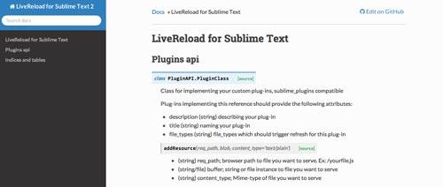 Extensión para Sublime Text Editor Live Reload
