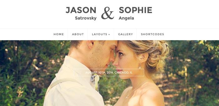 8 temas Wordpress para bodas