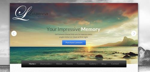 Temas WordPress para hoteles: Lamoon