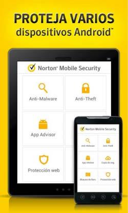 Antivirus para Android gratis: Norton Mobile Security