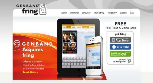 Aplicaciones moviles para realizar llamadas gratuitas: Fring