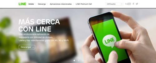 Aplicaciones moviles para realizar llamadas gratuitas: Line