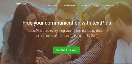 Aplicaciones moviles para realizar llamadas gratuitas: textPlus
