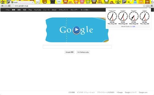Extensiones Google Chrome para administradores WordPress: World Clocks