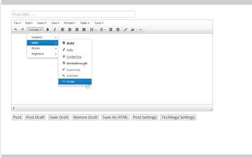 Extensiones Google Chrome para WordPress: WP Write
