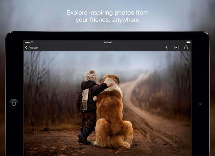 iOS app para fotógrafos: 500 px