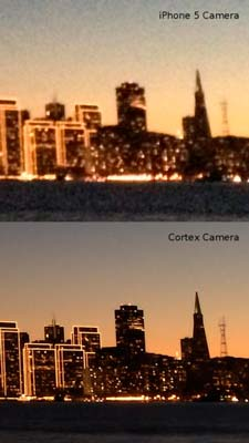 iOS app para fotógrafos: CortexCamera