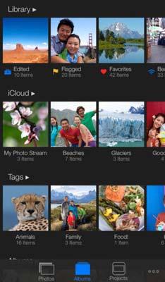 iOS app para fotógrafos: iPhoto
