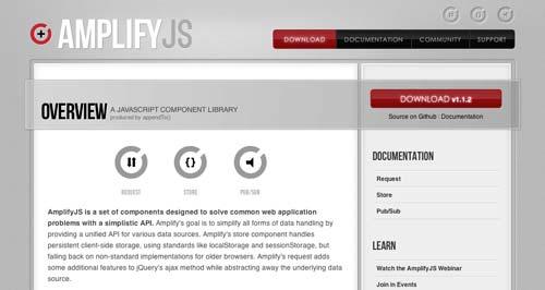 JavaScript Framework Amplify.js