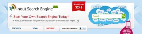 PHP script para incorporar sistema de búsqueda: Inout Search Engine