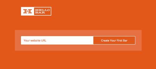 Plugin WordPress para añadir barras de notificación: Hello Bar