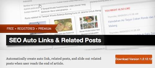 Plugin WordPress para añadir entradas relacionadas: SEO Auto Links & Related Posts