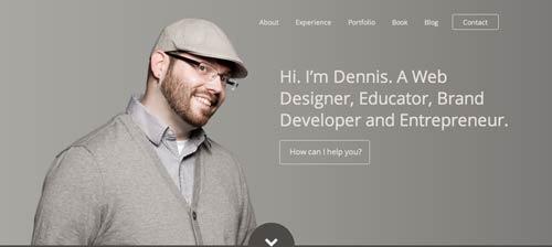 Portfolio online de Dennis Field