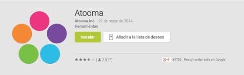 Programas para Android para automatizar procesos: Atooma