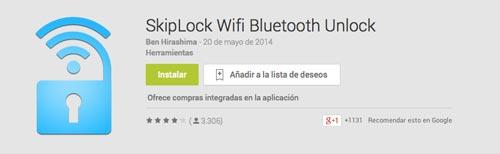 Programas para Android para automatizar procesos: SkipLock