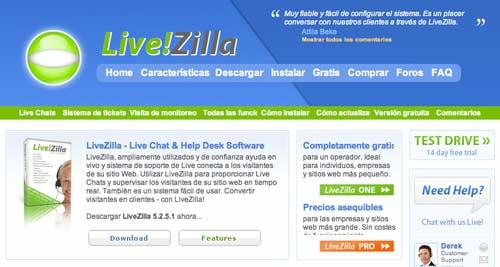 Script PHP para mejorar asistencia técnica: LiveZilla