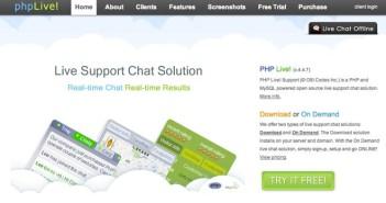 Script PHP para mejorar asistencia técnica: PHP Live