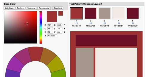 Generador de paletas de colores: Color Spire