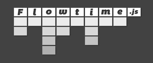 Herramienta basada en codigo HTML para presentación de diapositivas: Flowtime.js