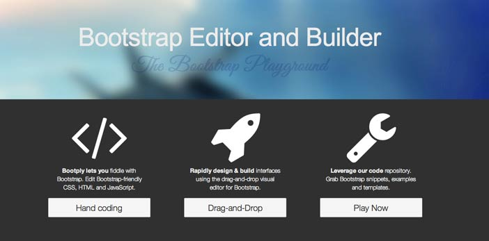 Editor WYSIWYG para Bootstrap: Bootply