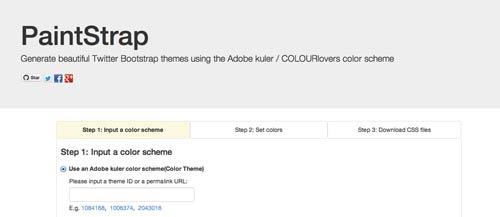Editor WYSIWYG para Bootstrap: Paintstrap