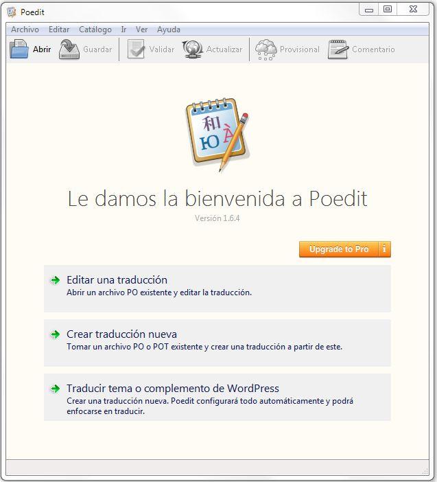 Cómo traducir plantillas WordPress con Poedit?