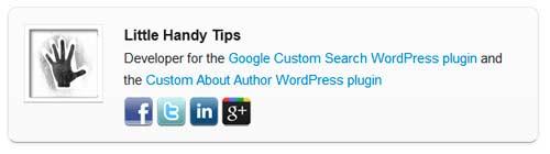 Plugin WordPress para incluir biografía de autor: Custom About Author