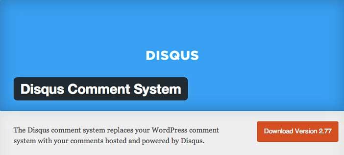 Plugin WordPress para mejorar sistema de comentarios: Disqus Comment System