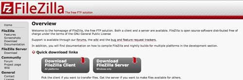 Útiles programas para Windows para desarrolladores web: FileZilla